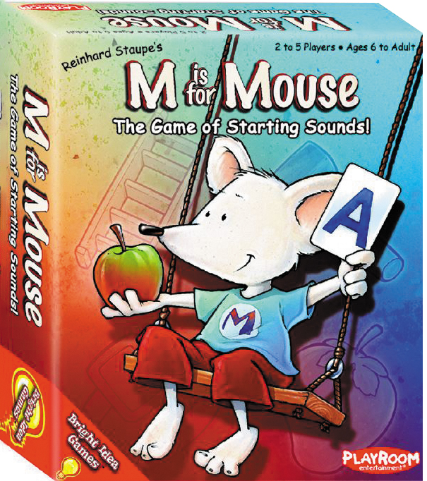 M Is For Mouse Box Front