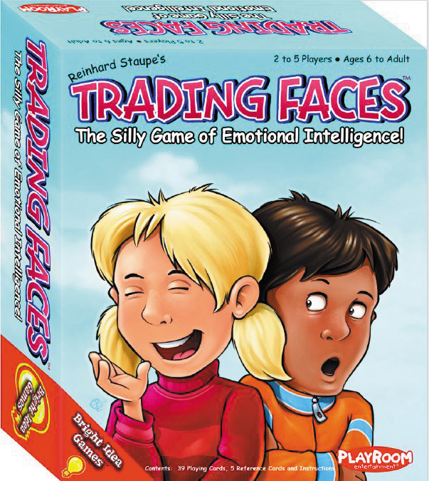 Trading Faces Box Front