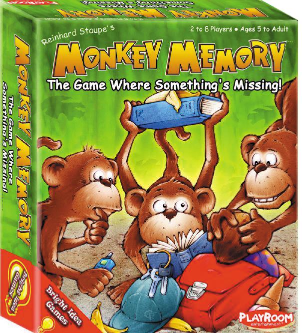 Monkey Memory Box Front