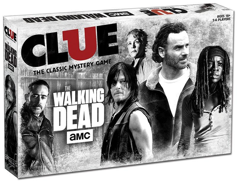Clue: The Walking Dead