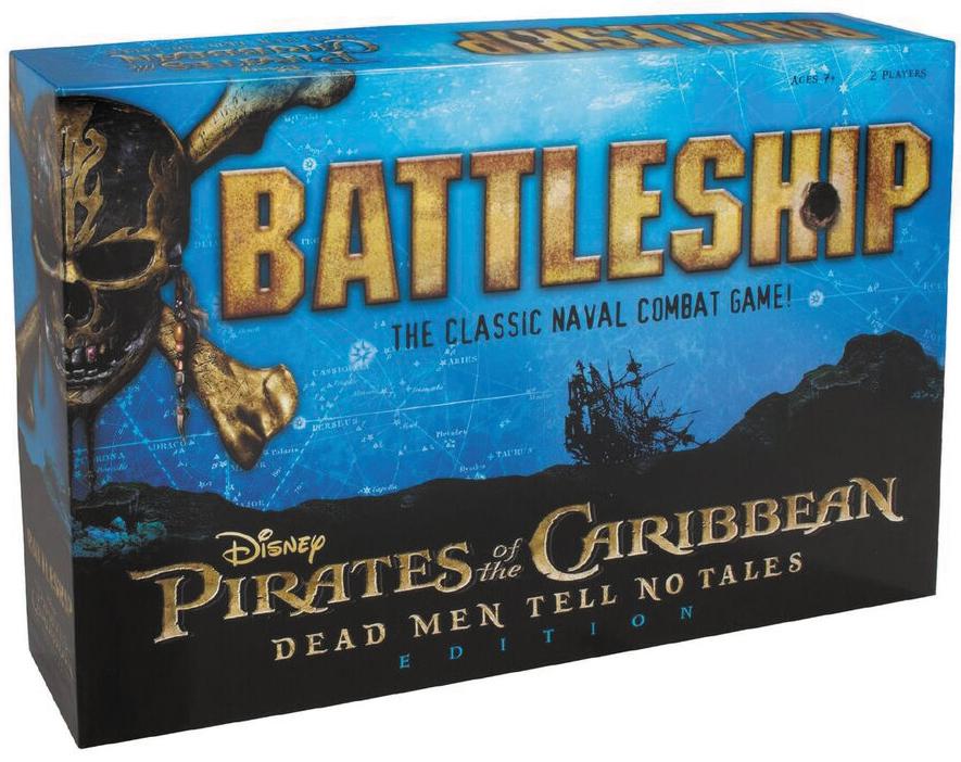 Pirates Of The Caribbean Battleship Box Front
