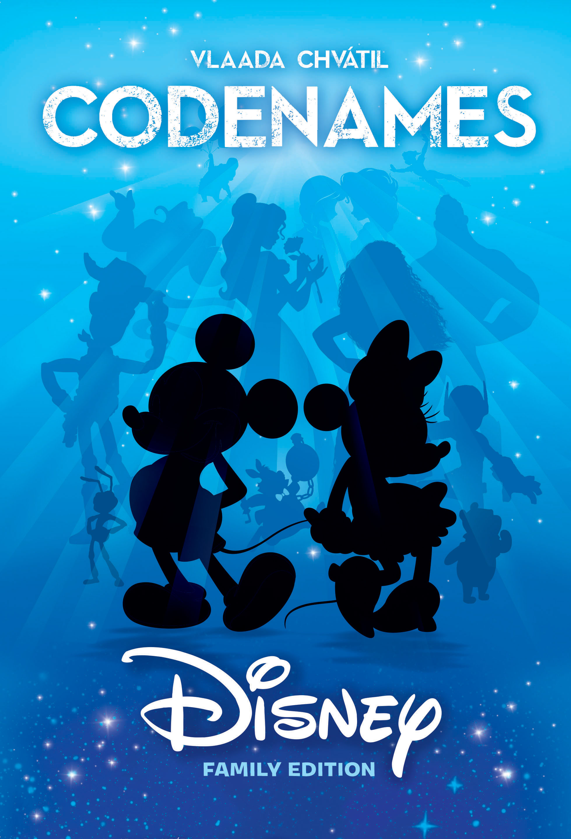 Disney Family Codenames Box Front
