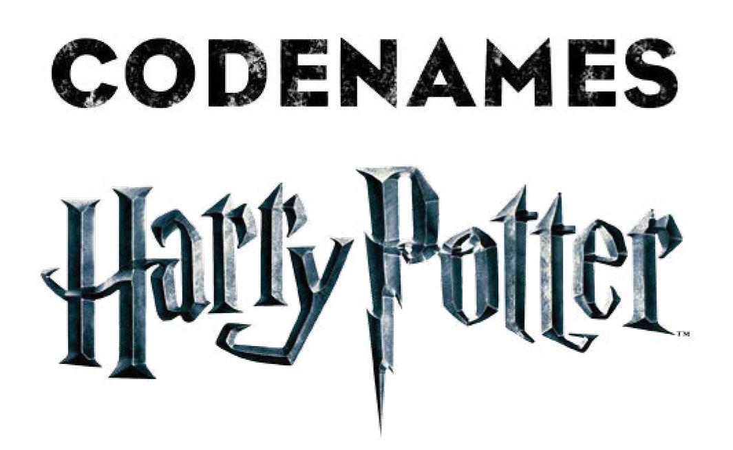 Harry Potter Codenames Box Front