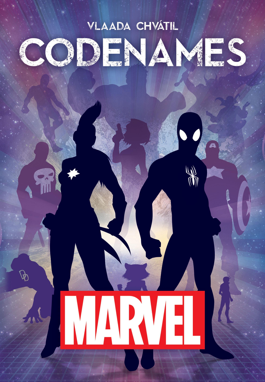 Marvel Codenames Box Front