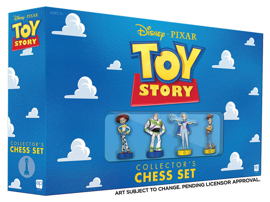 Toy Story Chess Game Box