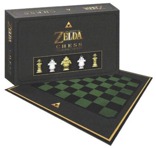 The Legend Of Zelda Collectors Chess Set Box Front