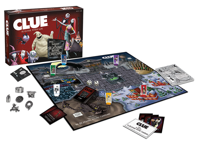 The Nightmare Before Christmas Clue Box Front