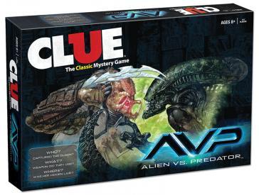 Alien Vs. Predator Clue Box Front
