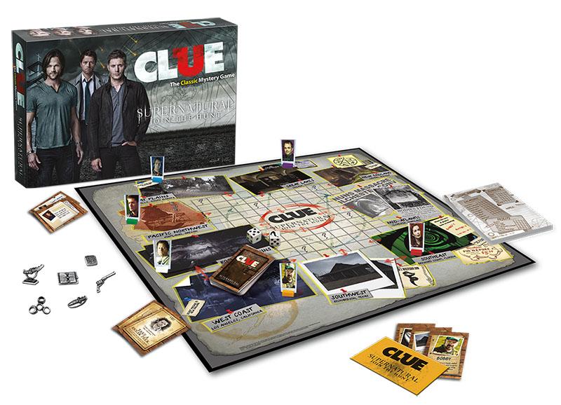 Supernatural Clue Box Front