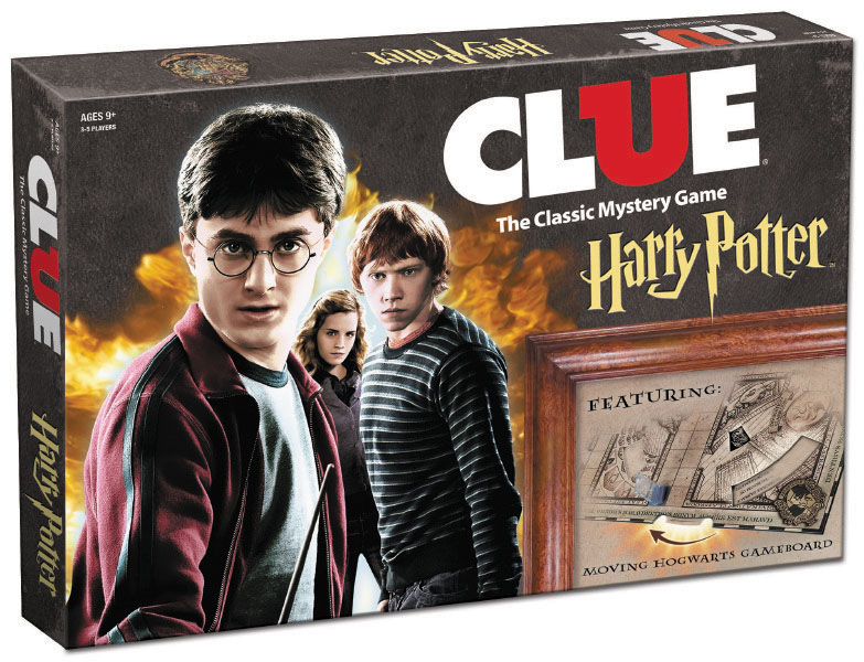 Harry Potter Clue Box Front
