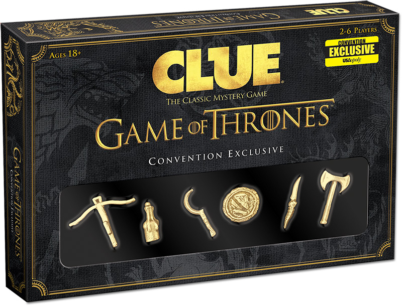 Game Of Thrones Clue Expansion Box Front