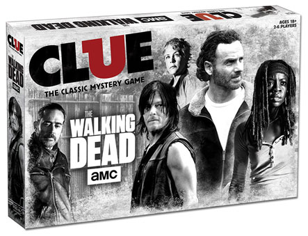 Amc The Walking Dead Clue Box Front