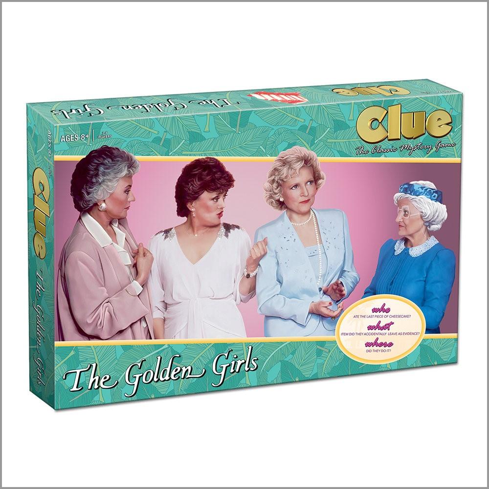 The Golden Girls Clue Box Front