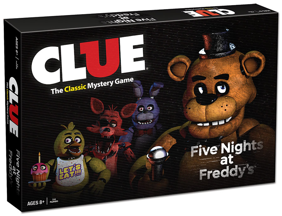 Five Nights At Freddy`s Clue Box Front