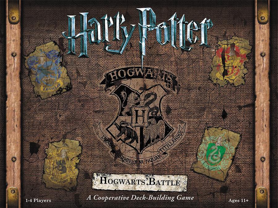 Harry Potter Hogwarts Battle Deckbuilding Game Box Front