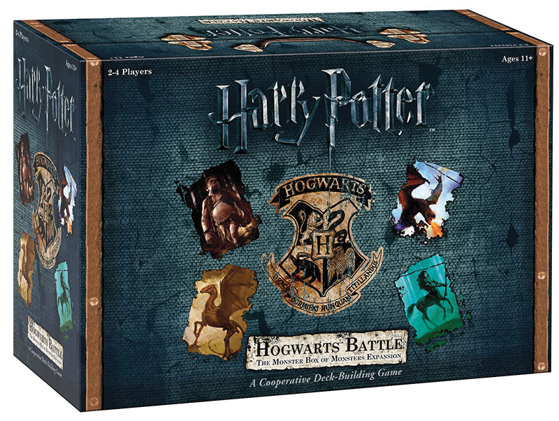 Harry Potter Hogwarts Battle The Monster Box Of Monsters Expansion Box Front