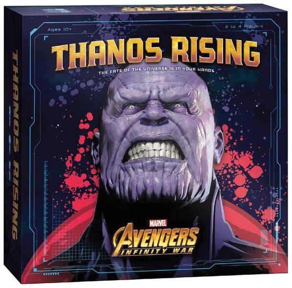 Thanos Rising: Avengers Infinity War Box Front