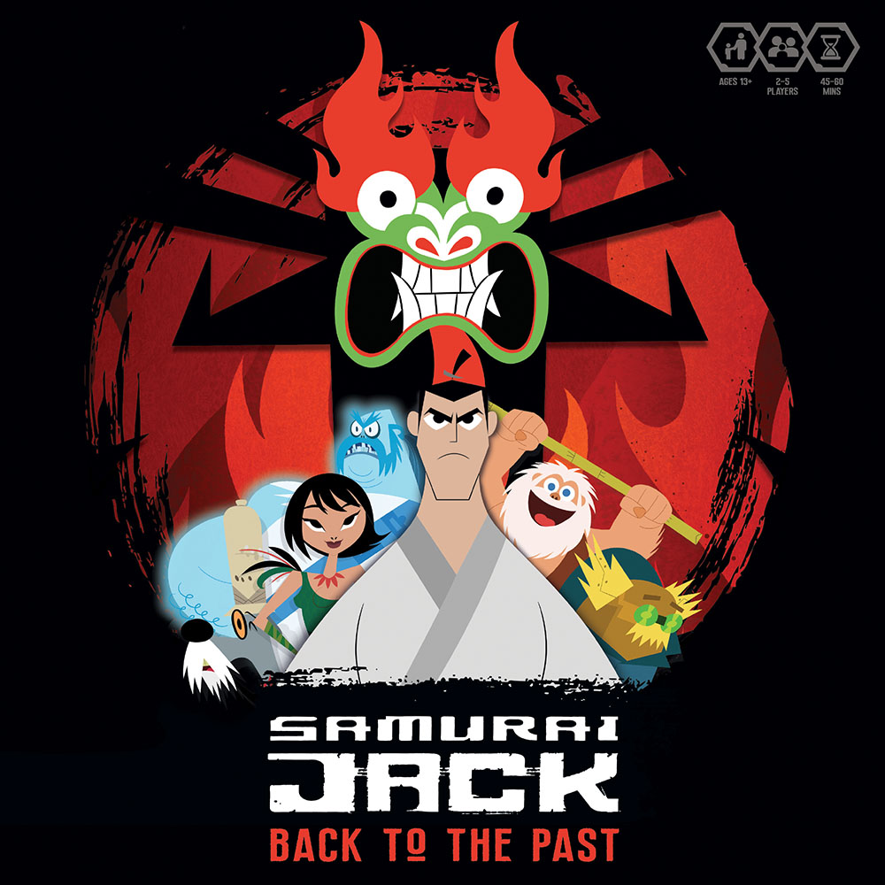 Samurai Jack Back To The Past Game Box