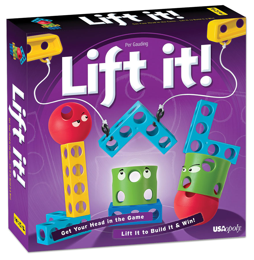 Lift It Deluxe Edition Box Front