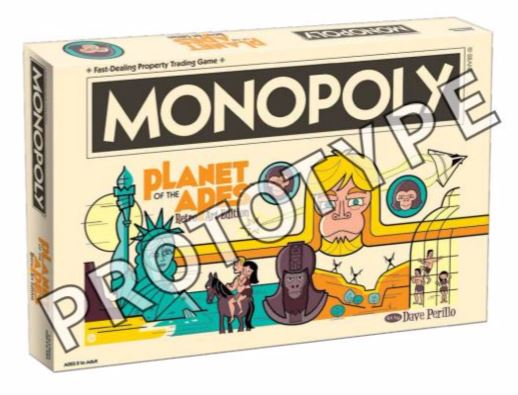 Planet Of The Apes Monopoly Box Front