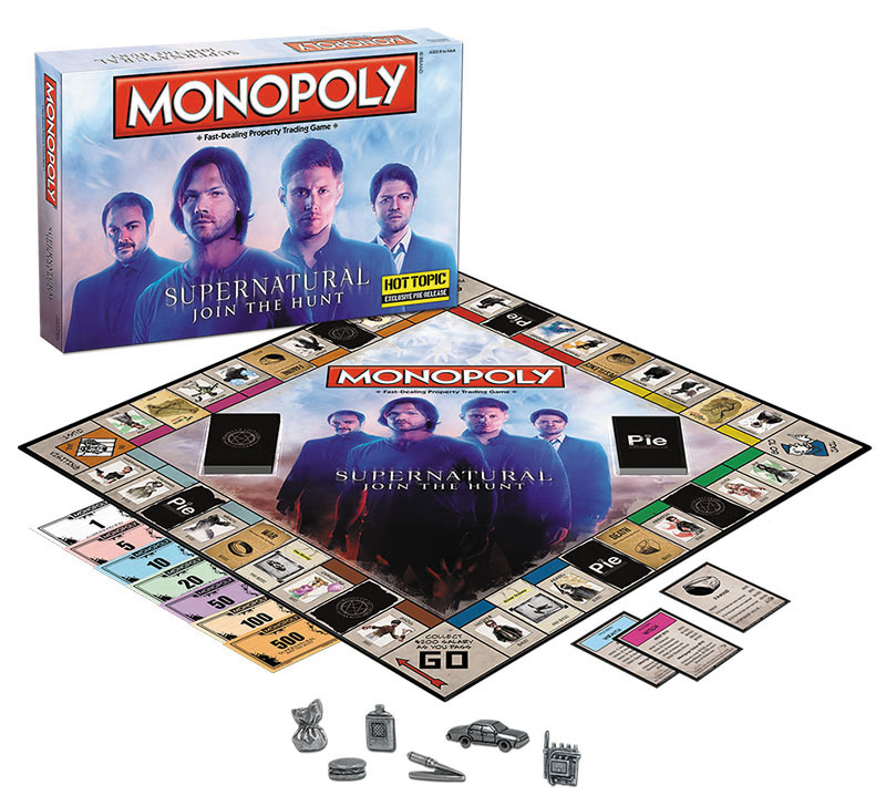 Supernatural Monopoly Box Front