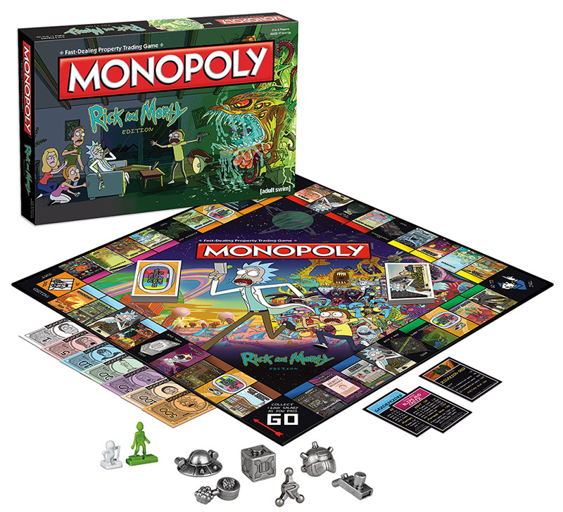 Rick And Morty Monopoly Box Front