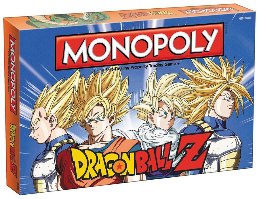 Dragon Ball Z Edition Monopoly Box Front