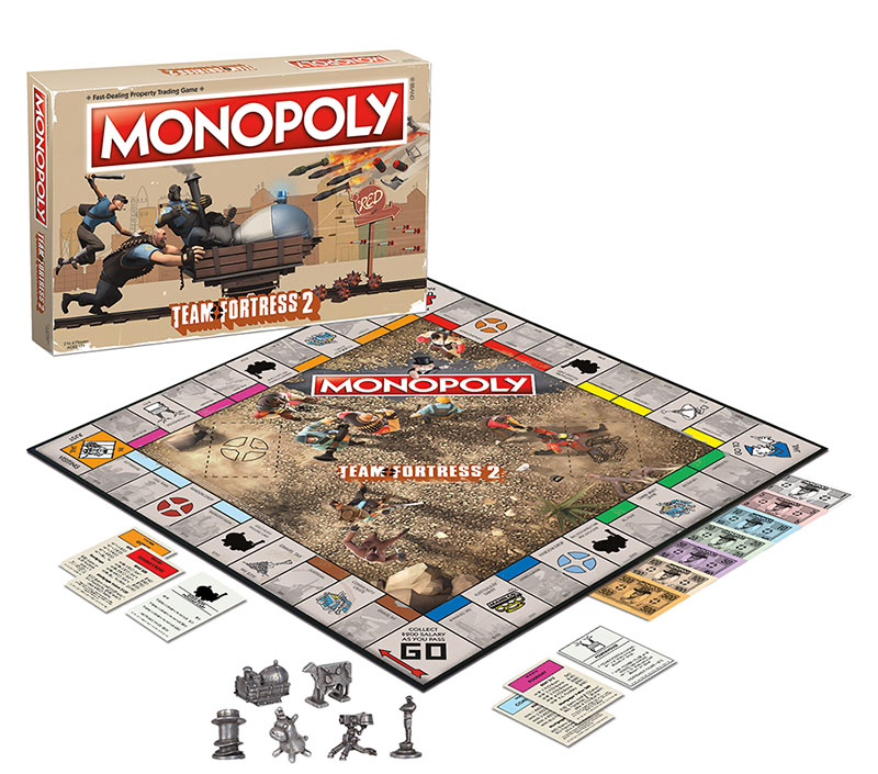 Team Fortress 2 Monopoly Box Front