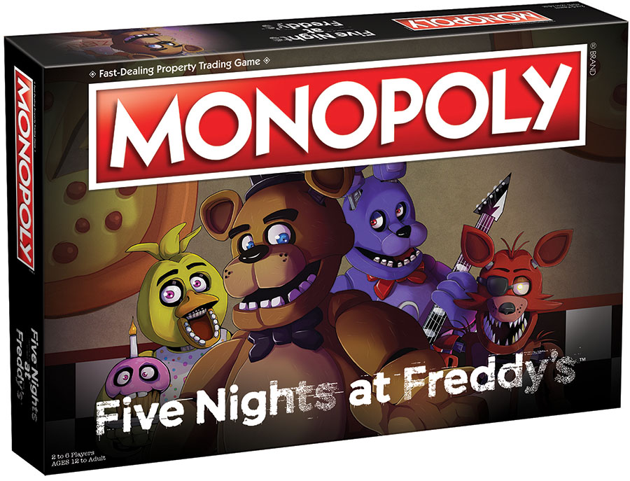 Five Nights At Freddy`s Monopoly Box Front