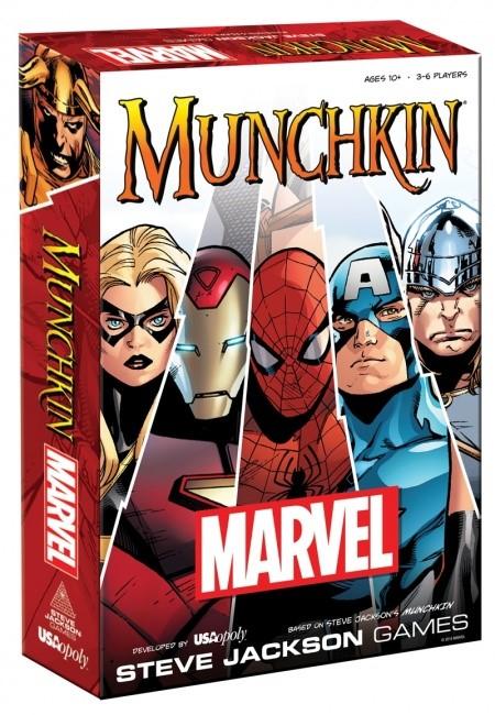 Munchkin: Marvel Edition Box Front