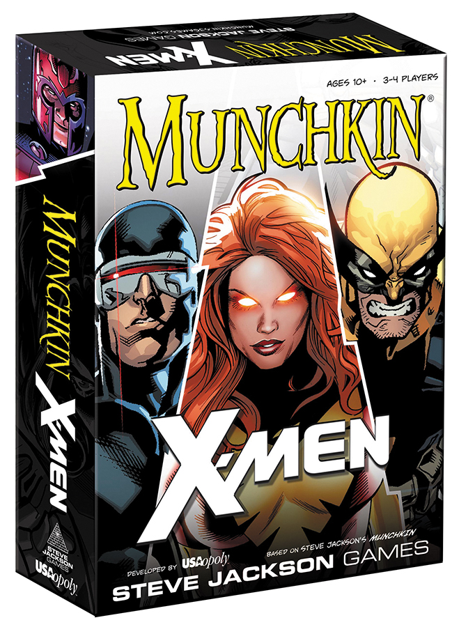 Munchkin: Marvel Edition - X-men (stand Alone Or Expansion) Box Front