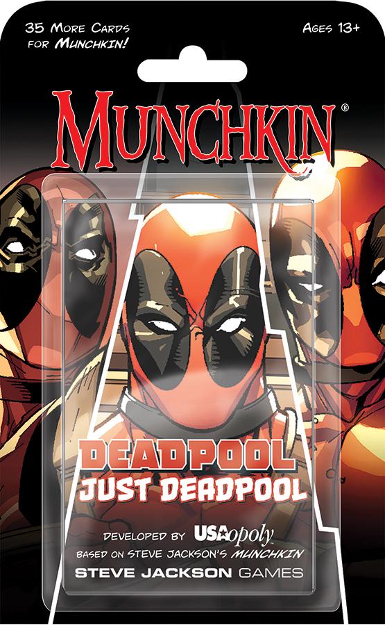 Munchkin: Marvel Edition - Deadpool - Just Deadpool Expansion Box Front