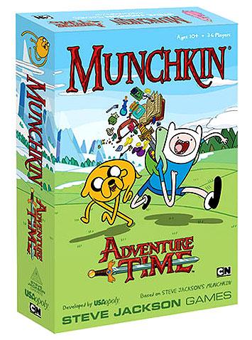 Adventure Time Munchkin Game Box