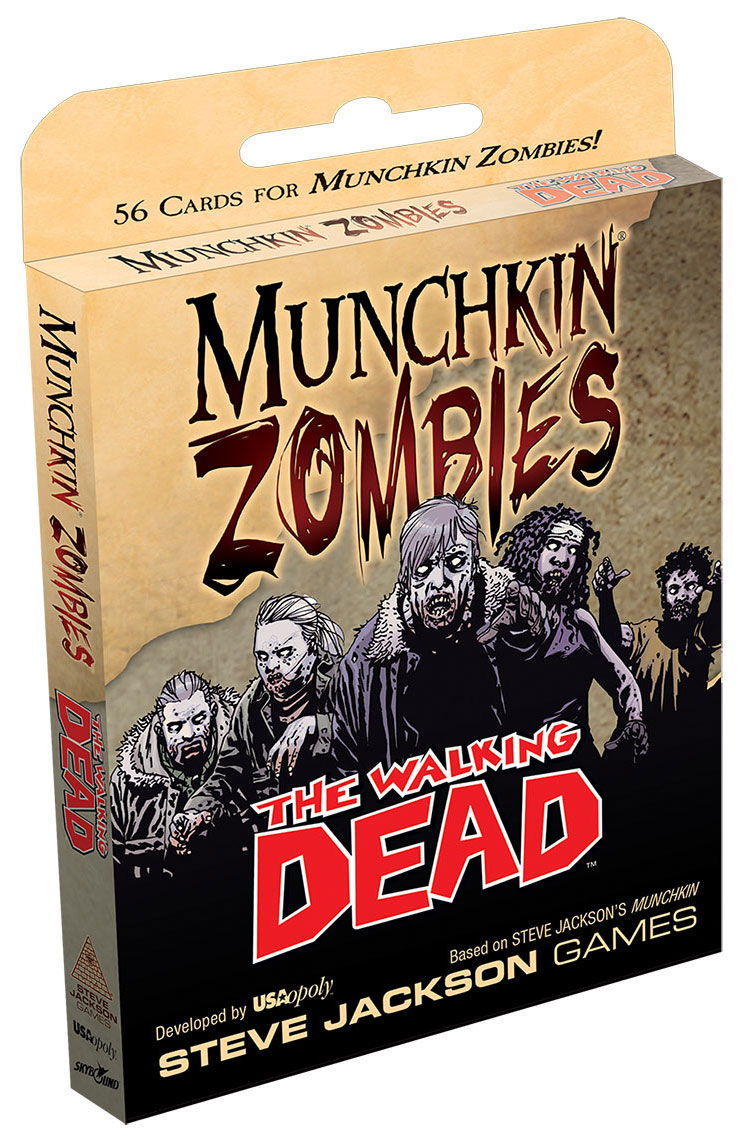 Munchkin Zombies: The Walking Dead Expansion Box Front