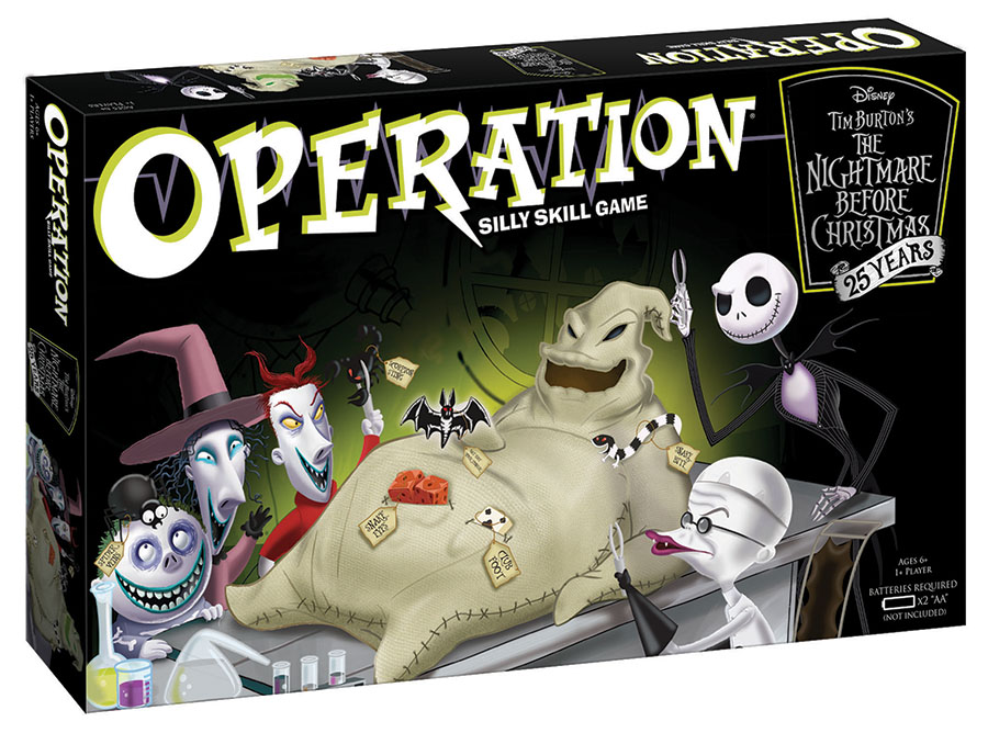 The Nightmare Before Christmas 25 Year Anniversary Edition Operation Box Front
