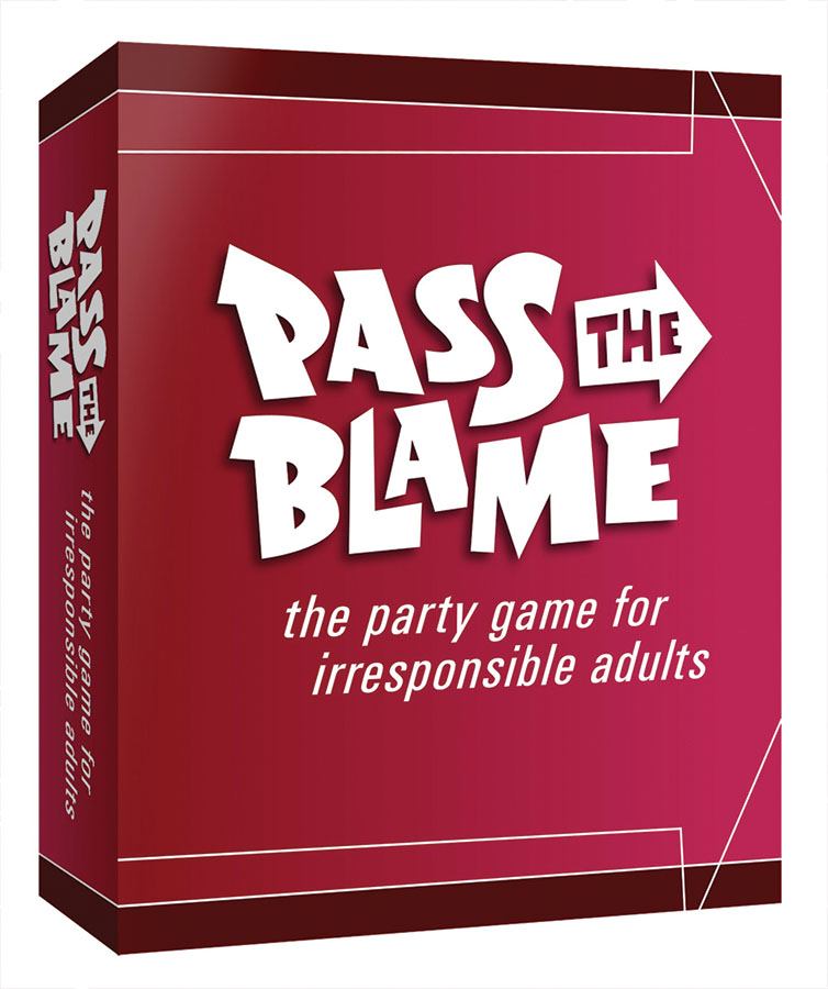 Pass The Blame Box Front