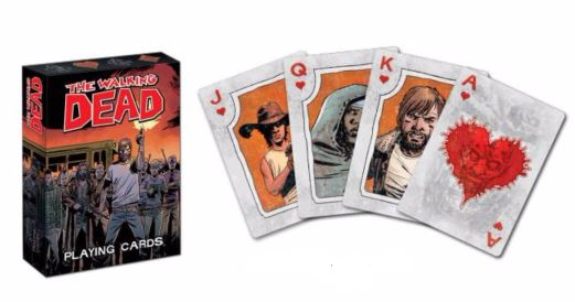 The Walking Dead Playing Cards Box Front