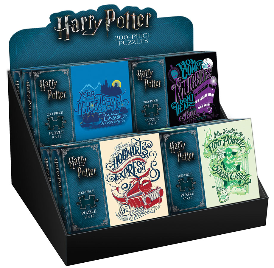 Harry Potter 200 Piece Pdq Tray Puzzle Box Front