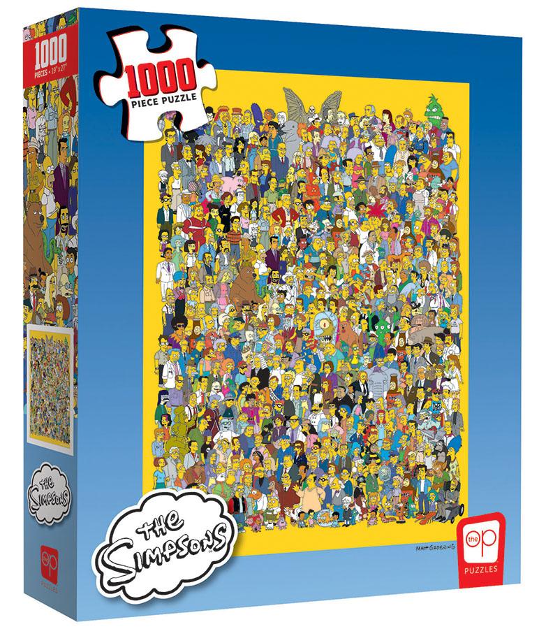 The Simpsons: Cast Of Thousands 1000 Piece Puzzle