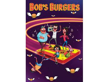 Bob`s Burgers Belchers In Space 1000 Piece Puzzle Game Box