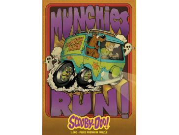 Scooby Doo Munchies Run 1000 Piece Premium Puzzle Game Box