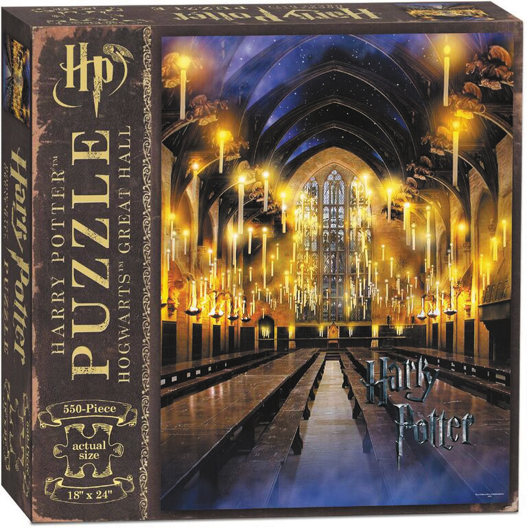 Harry Potter And The Great Hall 550 Piece Puzzle Box Front