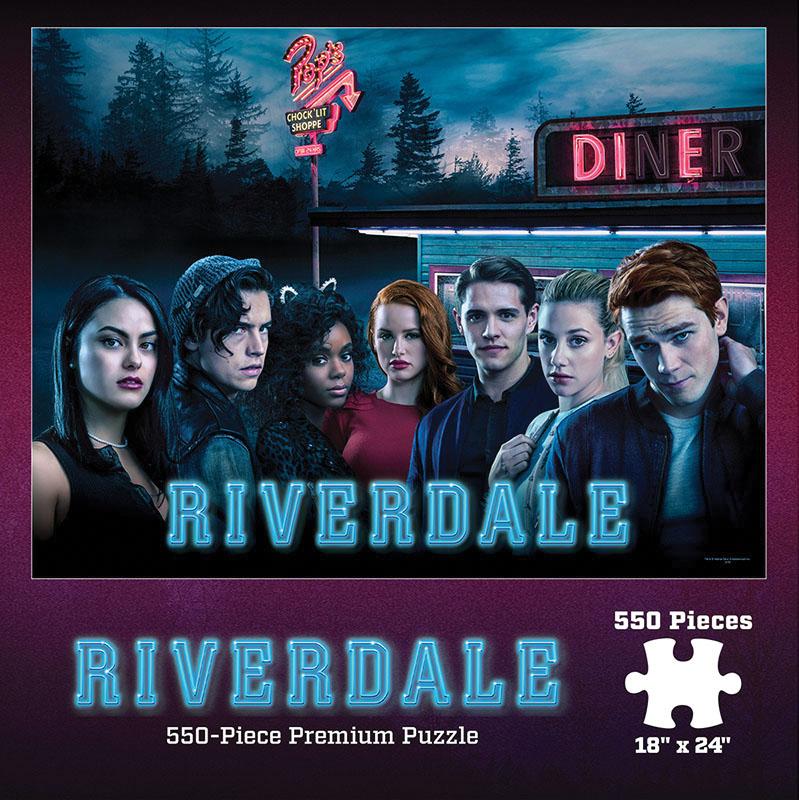 Riverdale Pop`s Diner 550 Piece Puzzle Game Box