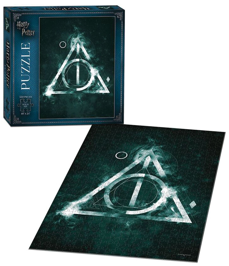Harry Potter The Deathly Hallows 550 Piece Puzzle Box Front