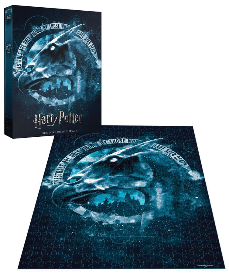 Harry Potter Thestral 1000 Piece Puzzle Box Front