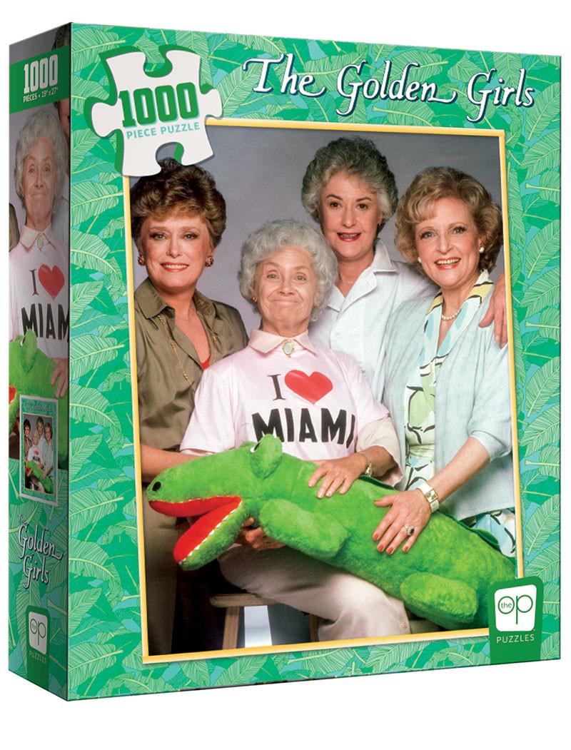 The Golden Girls `i Heart Miami` 1000pcs Puzzle