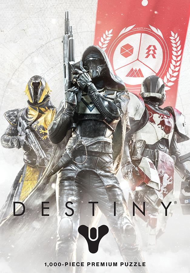 Destiny Guardian Fireteam 1000 Piece Puzzle Box Front