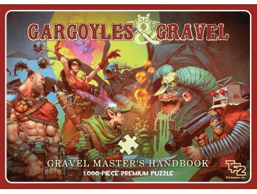 Team Fortess 2 Gargoyles And Gravel 1000 Piece Puzzle Game Box