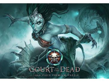 Court Of The Dead Death`s Siren 1000 Piece Puzzle Game Box