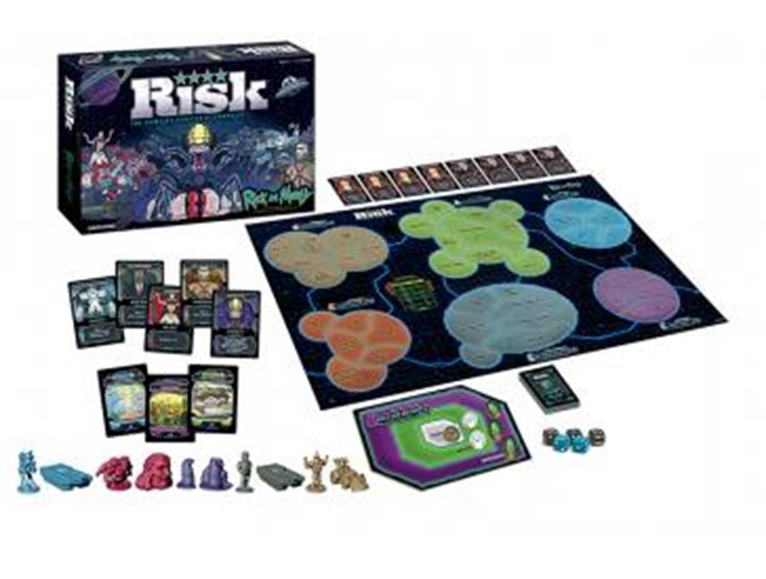 Rick And Morty Risk Game Box